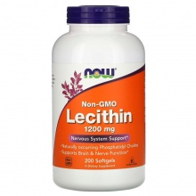 Антиоксидант NOW Lecithin 1200mg 200 таб