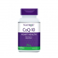 Антиоксидант Natrol Co Q-10  50 мг 60 капсул