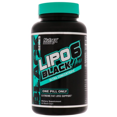 Жиросжигатель NUTREX Lipo 6 Black Hers Ultra Concentrate 60 капс
